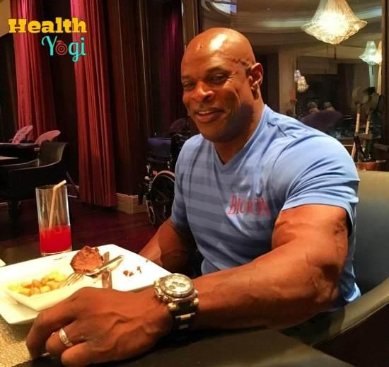 Ronnie Coleman Diet