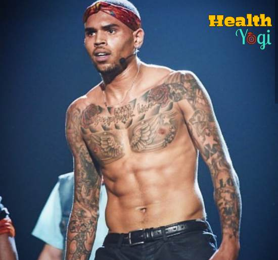 Chris Brown Workout Routine and Diet Plan