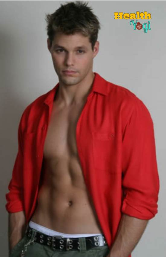 Justin Bruening Workout Routine and Diet Plan