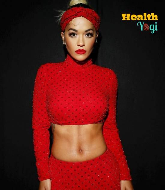 Rita Ora Workout Routine and Diet Plan