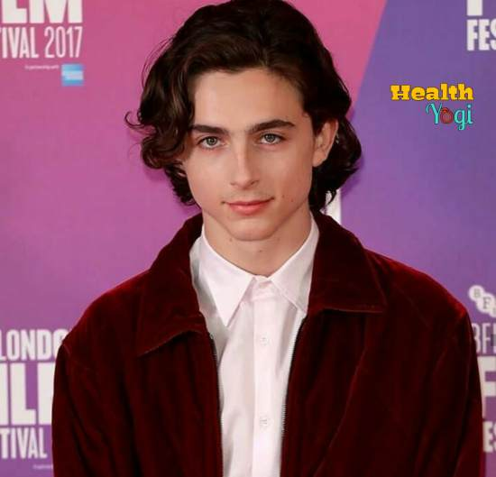 Timothee Chalamet Workout Routine and Diet Plan