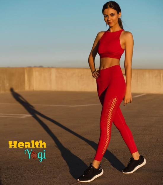 Victoria Justice Workout Routine and Diet Plan