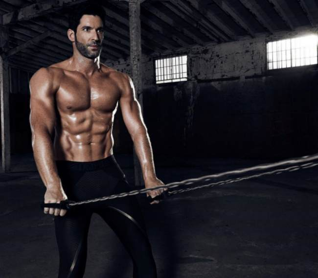 Tom Ellis Workout Routine and Diet Plan