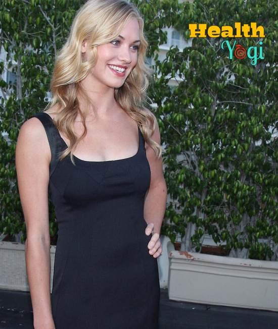 Yvonne Strahovski Diet Plan