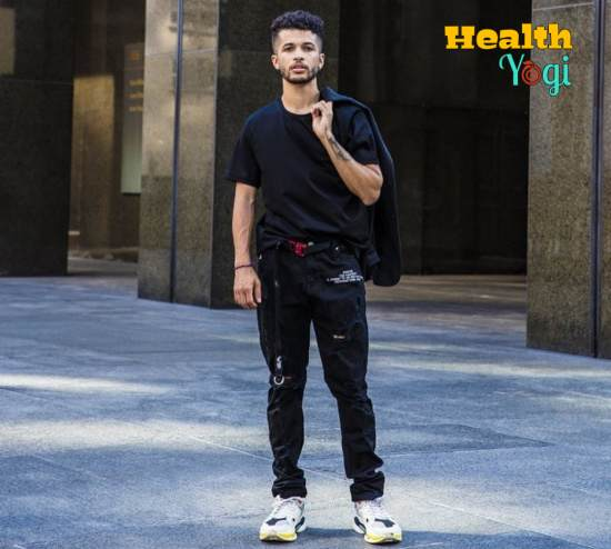 Jordan Fisher Workout Routine and Diet Plan