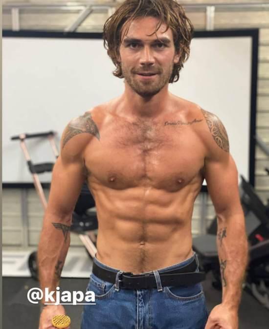 KJ Apa Diet Plan and Workout Routine