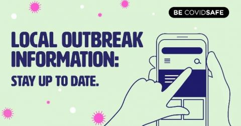 Local outbreak information - stay informed