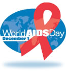 Logo for World AIDS Day