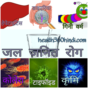 Waterborne disease in Hindi