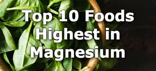 Top 10 High Magnesium Foods You Can't Miss