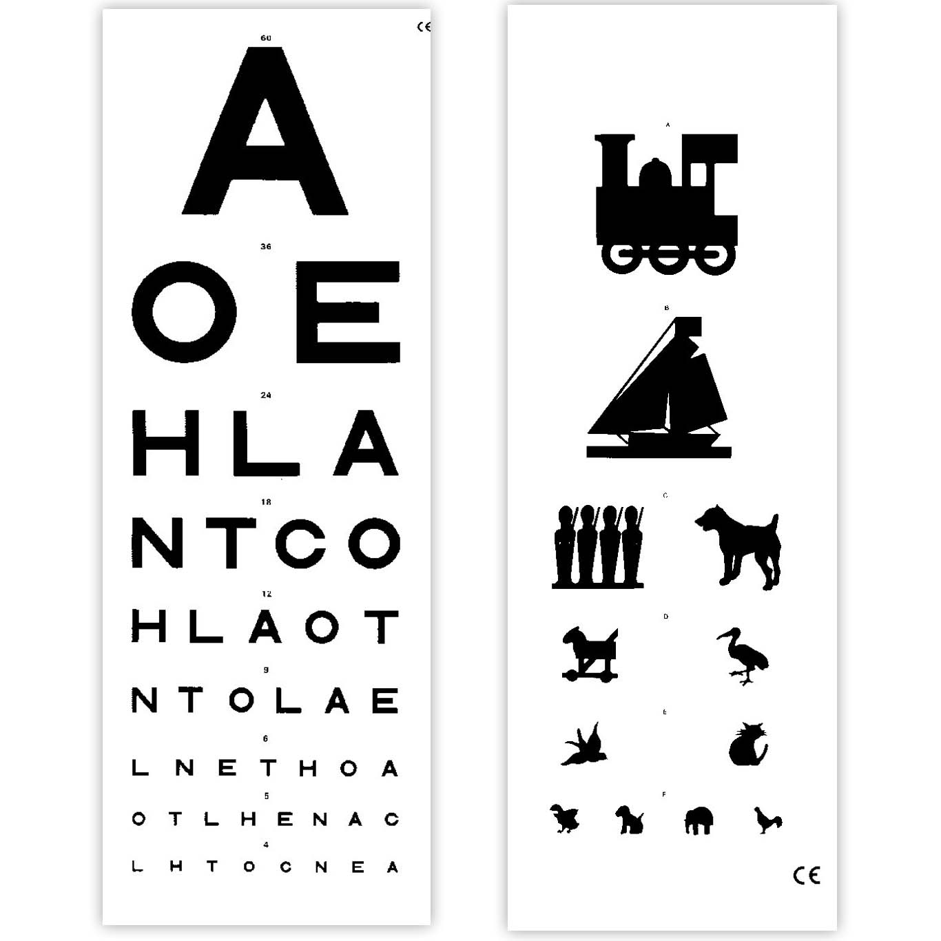 Eye Test Chart 6 Metre Distance Sports Supports