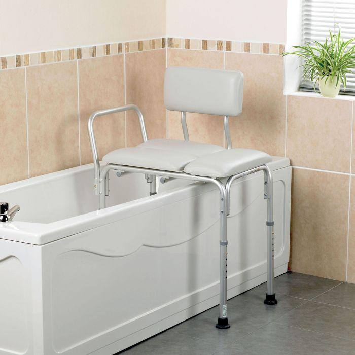 Homecraft Padded Bath Transfer Bench Sports Supports