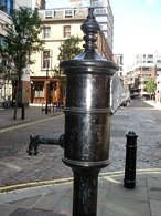 water pump in London
