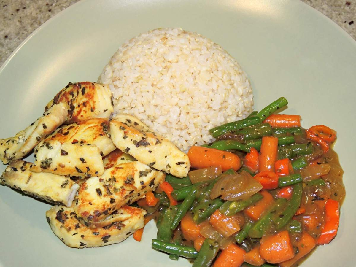 Tilapia Stir Fry with Veggies