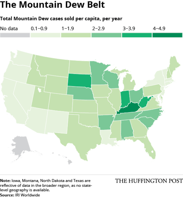 Mountain Dew Map