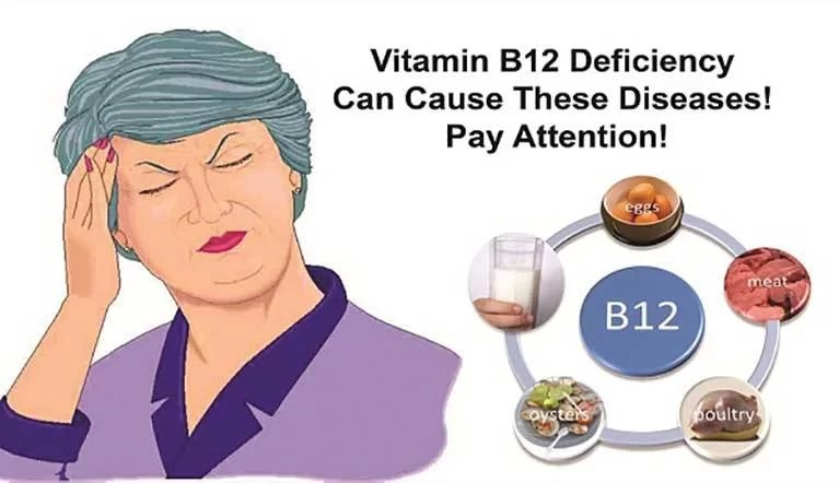 How Vitamin B12 Deficiency Makes You Weak and Tired and 4 Foods to Increase Vitamin B12 Levels