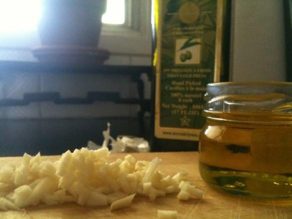 garlic antiseptic