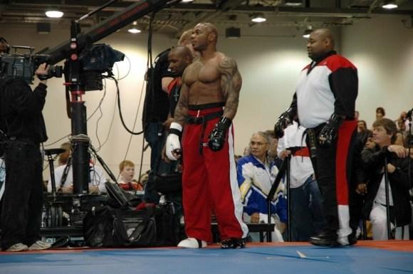 martial arts muscles