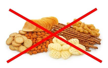 avoid salty snacks