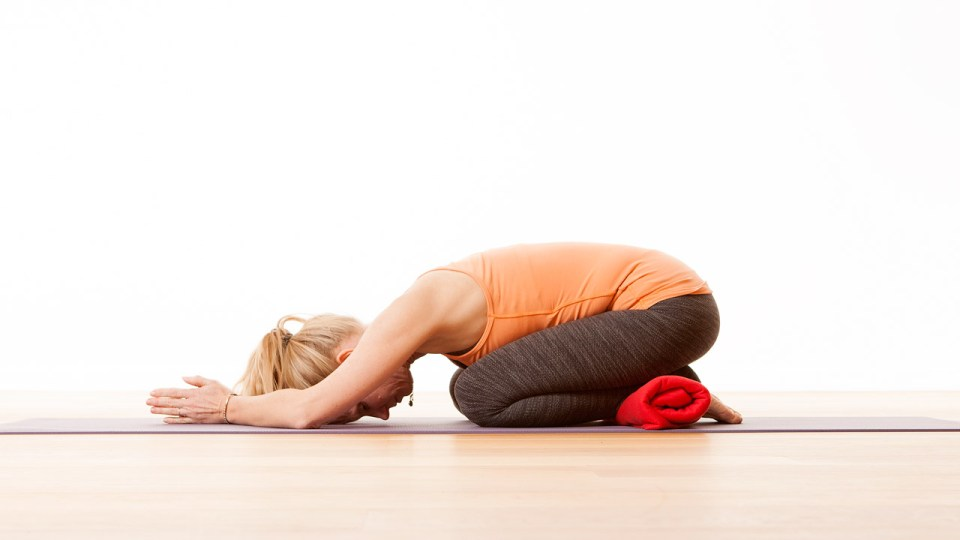 Balasana – Wide-Knee Child's Pose