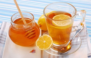 Honey with lemon luice for cold