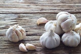 Garlic for keloids