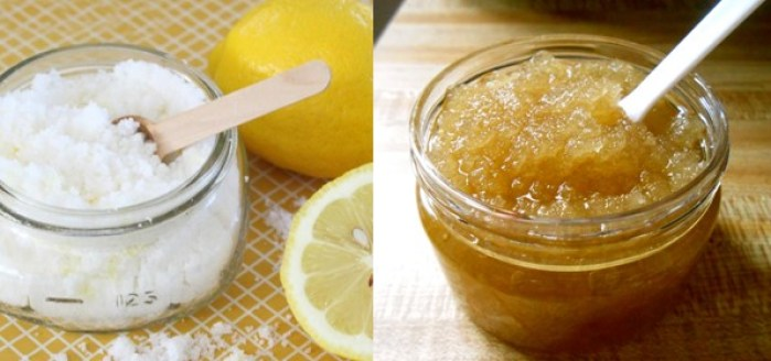 Lemon with Sugar for Chapped Lips