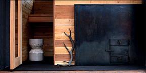 sauna antlers