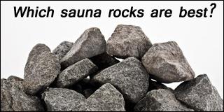 sauna rocks