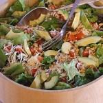 Avocado Salad with Pine Nuts