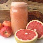 Grapefruit Juice with apple