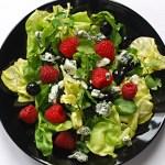 Lettuce Berries Salad