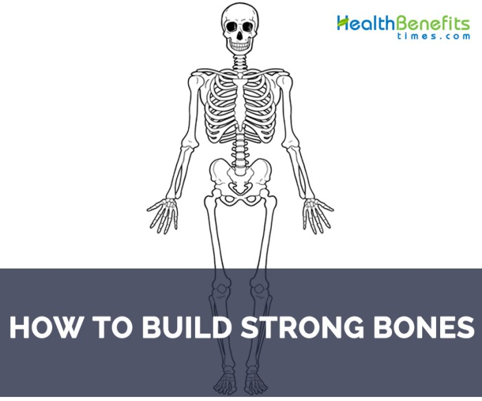 How to Build strong Bones
