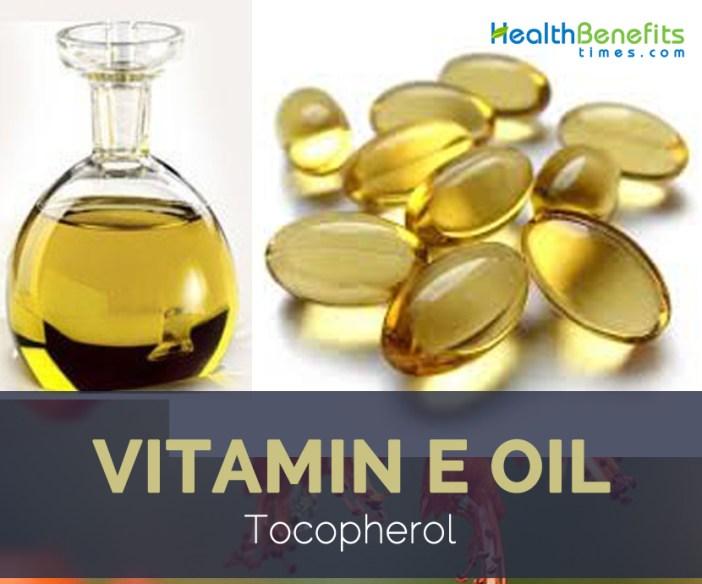 Health benefits of Vitamin E Oil