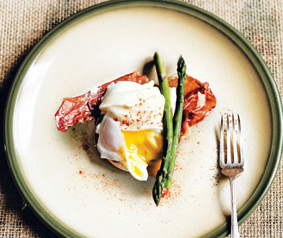 Eggs Benedict with Asparagus and Parma Ham Recipe