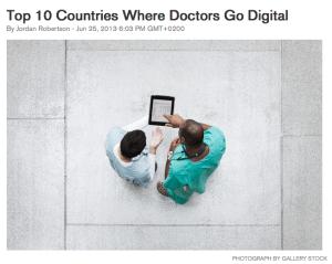 top10 countries digital doctors