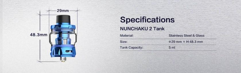 Uwell Nunchaku 2 Tank