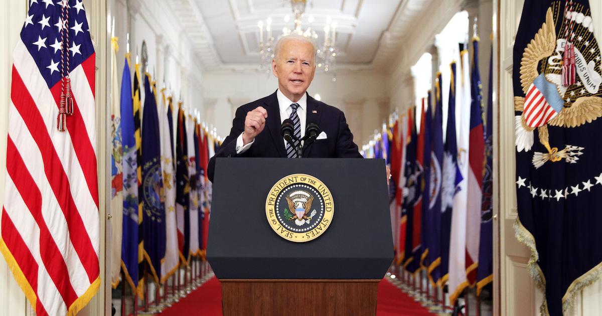 President Biden addresses the American people.