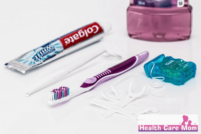 floss before or after brushing teeth