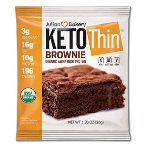Julian Bakery Keto Thin Brownie