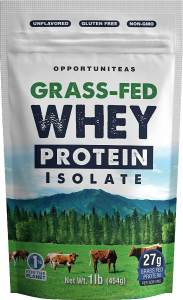 Grass-Fed Whey Protein Isolate - Opportuniteas
