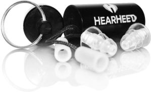 Hearheed High Fidelity Ear Plugs Noise Reduction