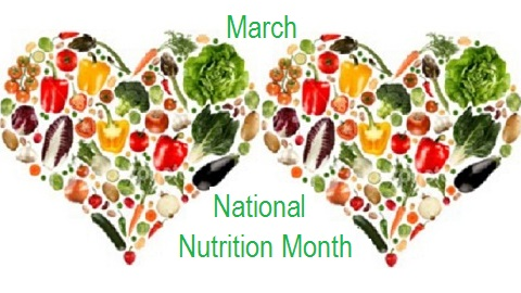 The Friday Five – National Nutrition Month
