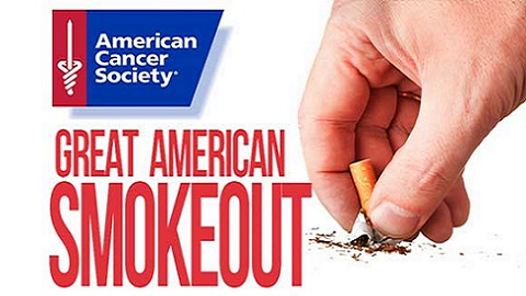 The Friday Five – November 16th is the Great American Smokeout