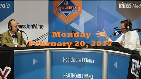 This Just In Live from #HIMSS17 – Highlights from Monday's Broadcast