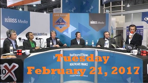 This Just In Live from #HIMSS17 – Tuesday's Broadcast