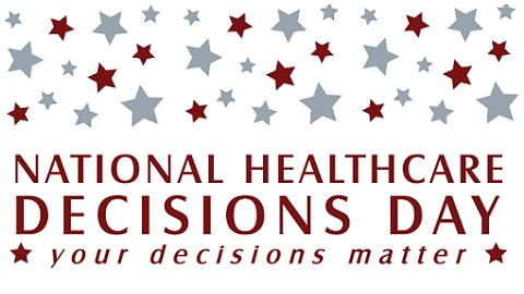 The Friday Five – National Healthcare Decisions Day