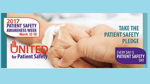 The Friday Five – Patient Safety Awareness Week