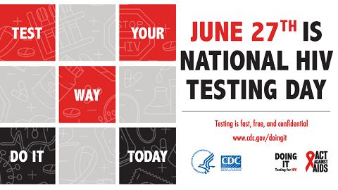 The Friday Five – National #HIVTestingDay