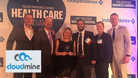 CloudMine Honored as Health Care Innovator by Philadelphia Business Journal